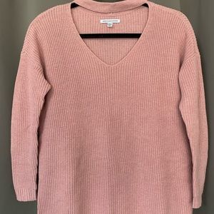 American Eagle Cut-out Neck Sweater